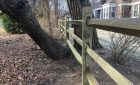 Split Rail Post And Rail Fence