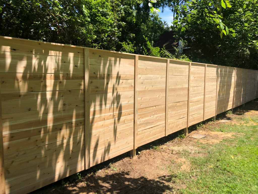 Stunning modern style fencing comes to the Jersey Shore...