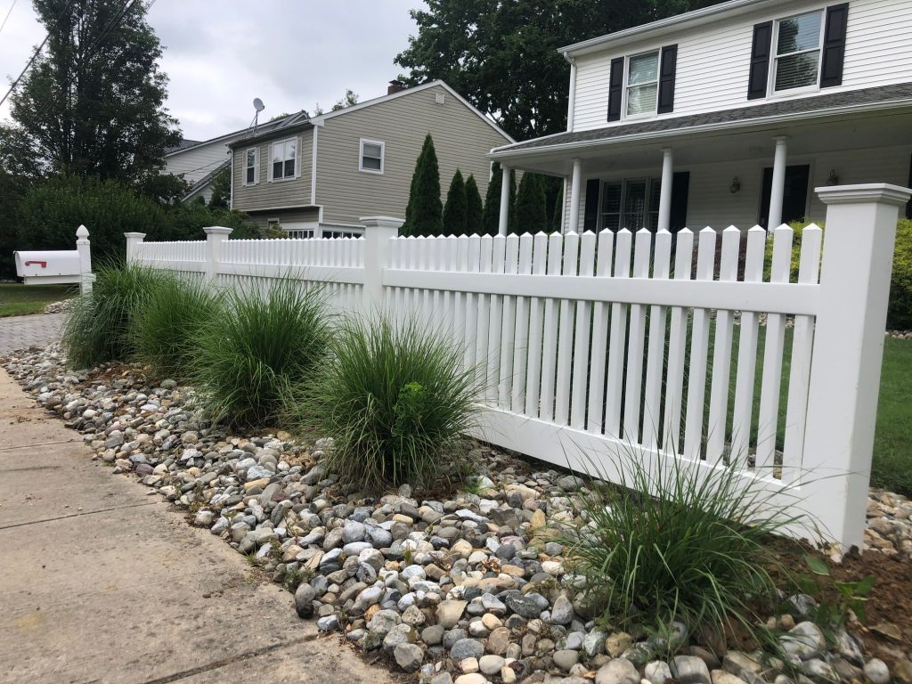 Classic picket fence for a classic Fair Haven home